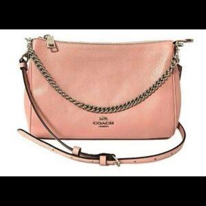 NWT COACH Carrie Crossbody Bag Purse Petal Pink